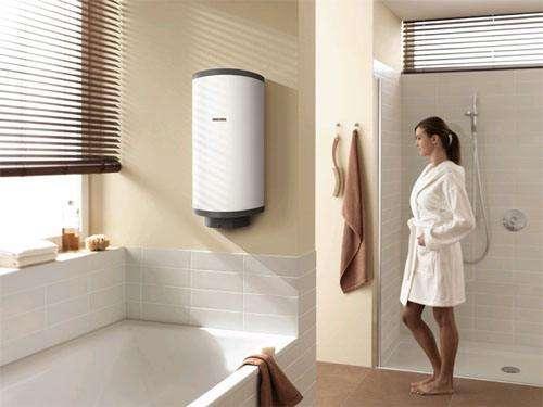 Бойлер для гарячого водопостачання.