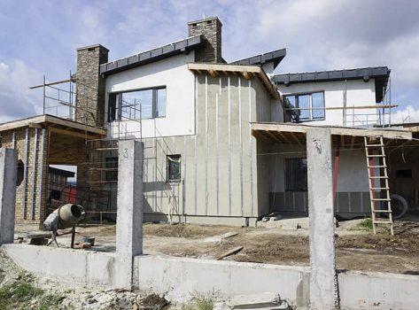 Частный дом с. Ямполь 240m² + гостевой 80m²